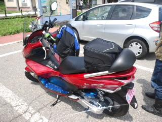 今回の相棒のバイク