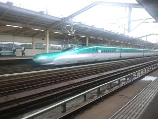 新幹線なう